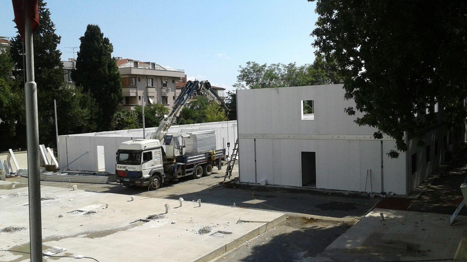 KAL Prefabrik Pansiyon Binası 22 09 2017